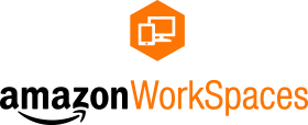 Logotipo de Amazon WorkSpaces.